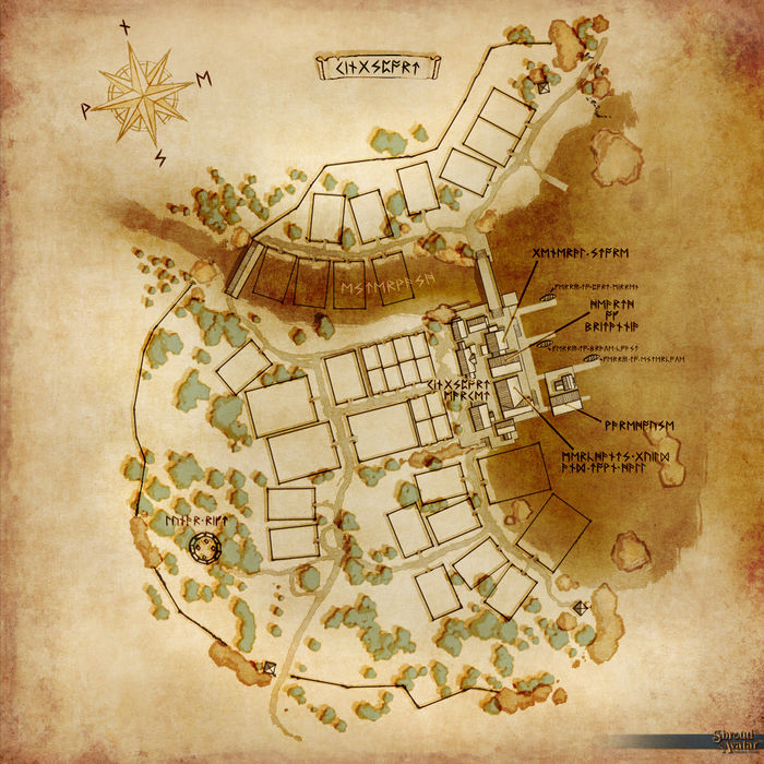 Map of Kingsport Shroud of the Avatar Wiki SotA