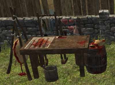 Butcher Station